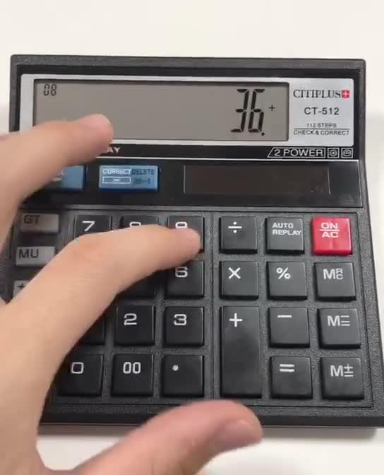 Multifunktionsrechner OS-512, Rechner CT 512