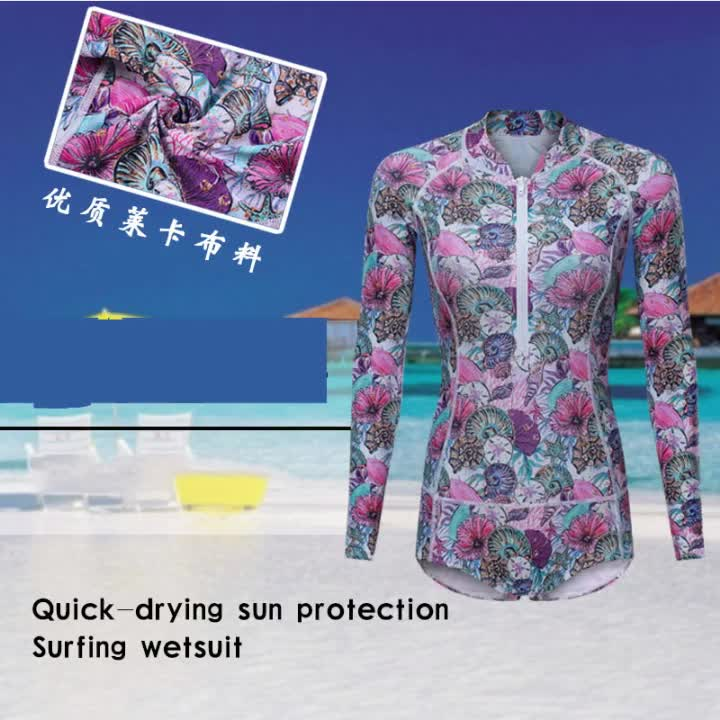 Women 2MM Surfing Wetsuits one-piece swimming canyoning wetsuit shorty  suit
