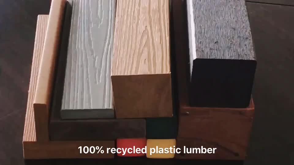 Carton plastique HDPE recyclé
