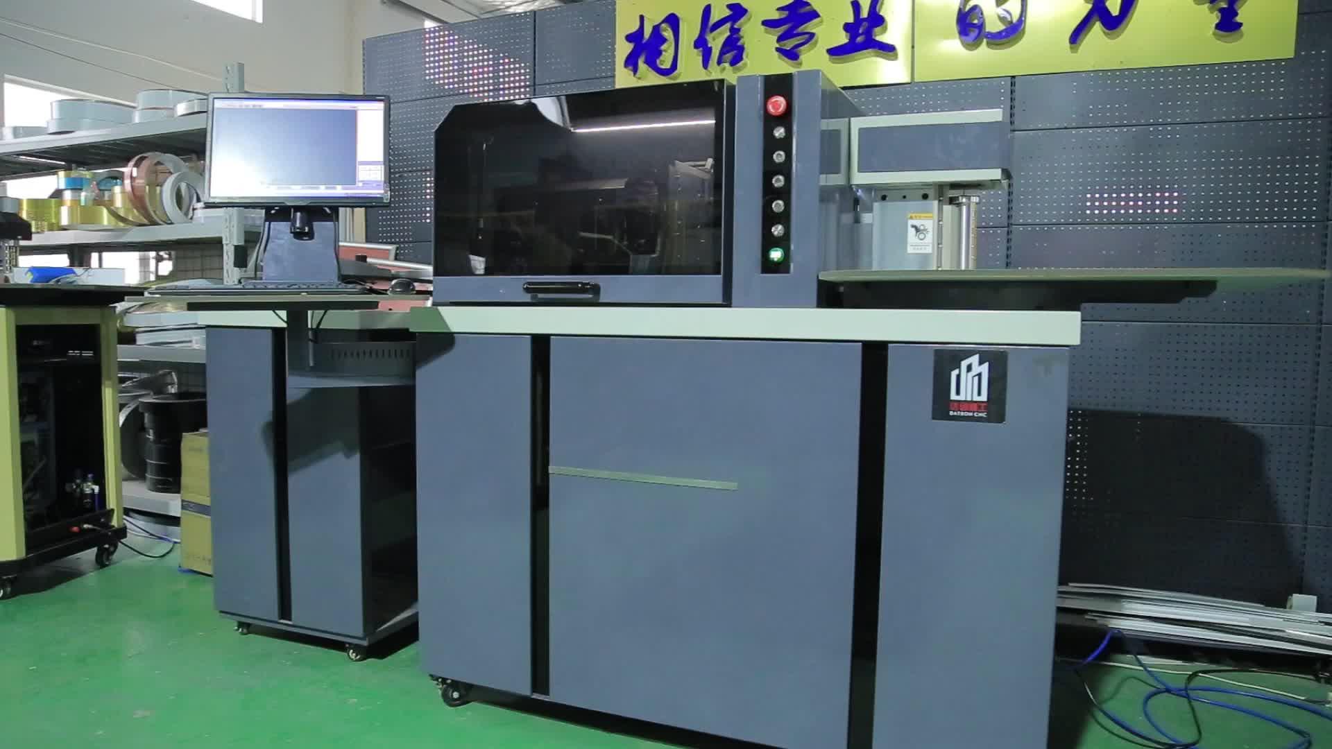 HH-NL130 Alumínio 3D Carta Canal LEVOU Sinais Carta Canal Bender CNC Máquina de Dobra