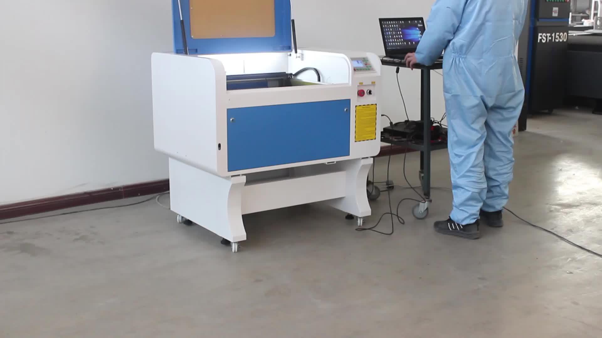4060 diy lazer gravür Ruida 50w/60w/80w/100w lazer oyma kesme makinesi