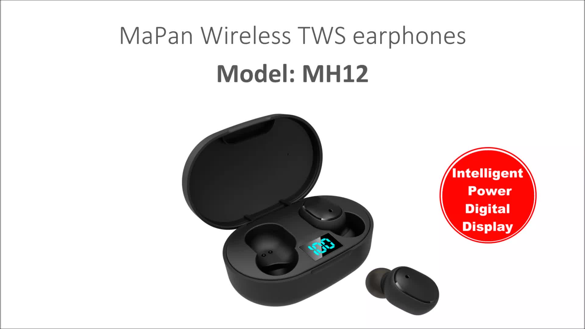 Free Shipping Wholesale TWS Wireless Stereo Mini In Ear Buds Magnetic Noise Canceling Hifi Sport Bluetooth Earphone