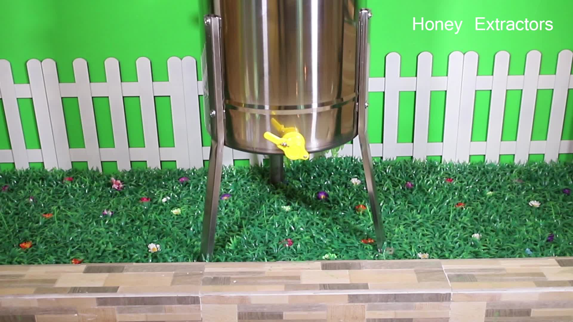 2 ,3, 4, 6 ,8, 12, 24 frames honey extractors used for honey extractor