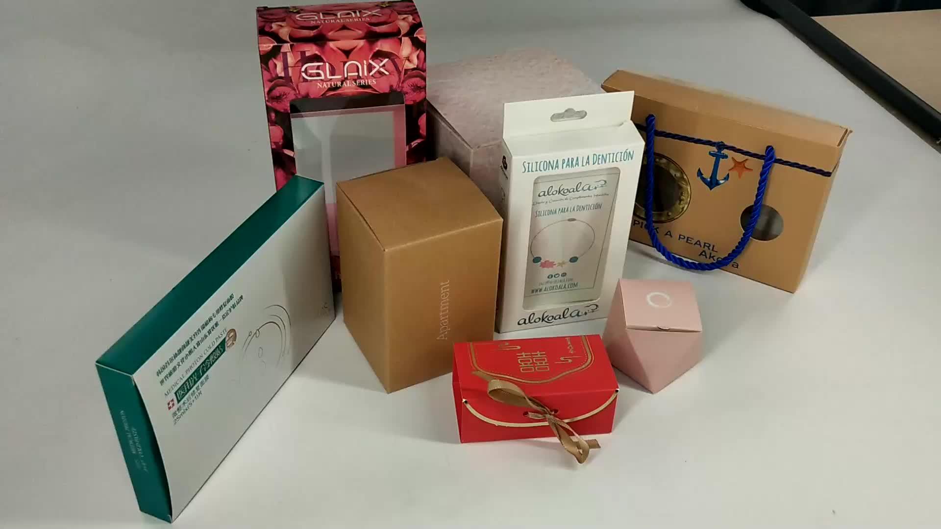 Recyclable मेलर बक्से कस्टम मुद्रित साबुन शरीर की देखभाल के लिए क्राफ्ट पेपर बॉक्स पैकेजिंग
