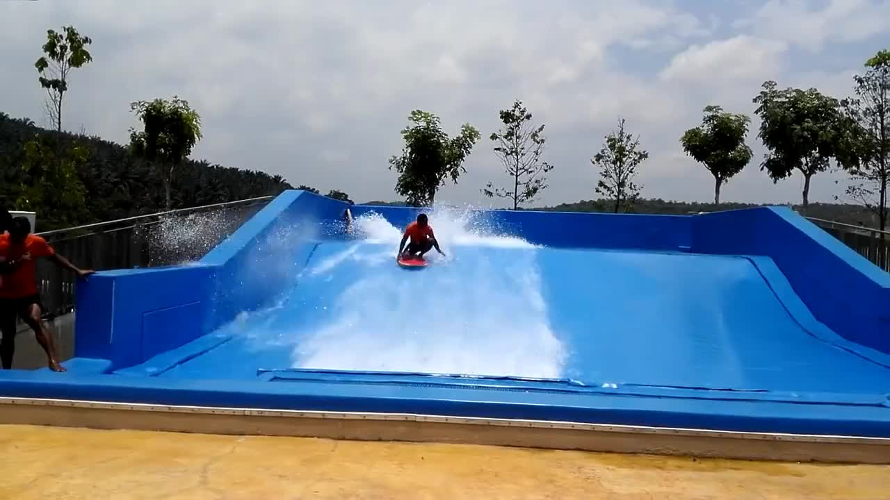 adult water slide flow rider Surf Wave Pool Product