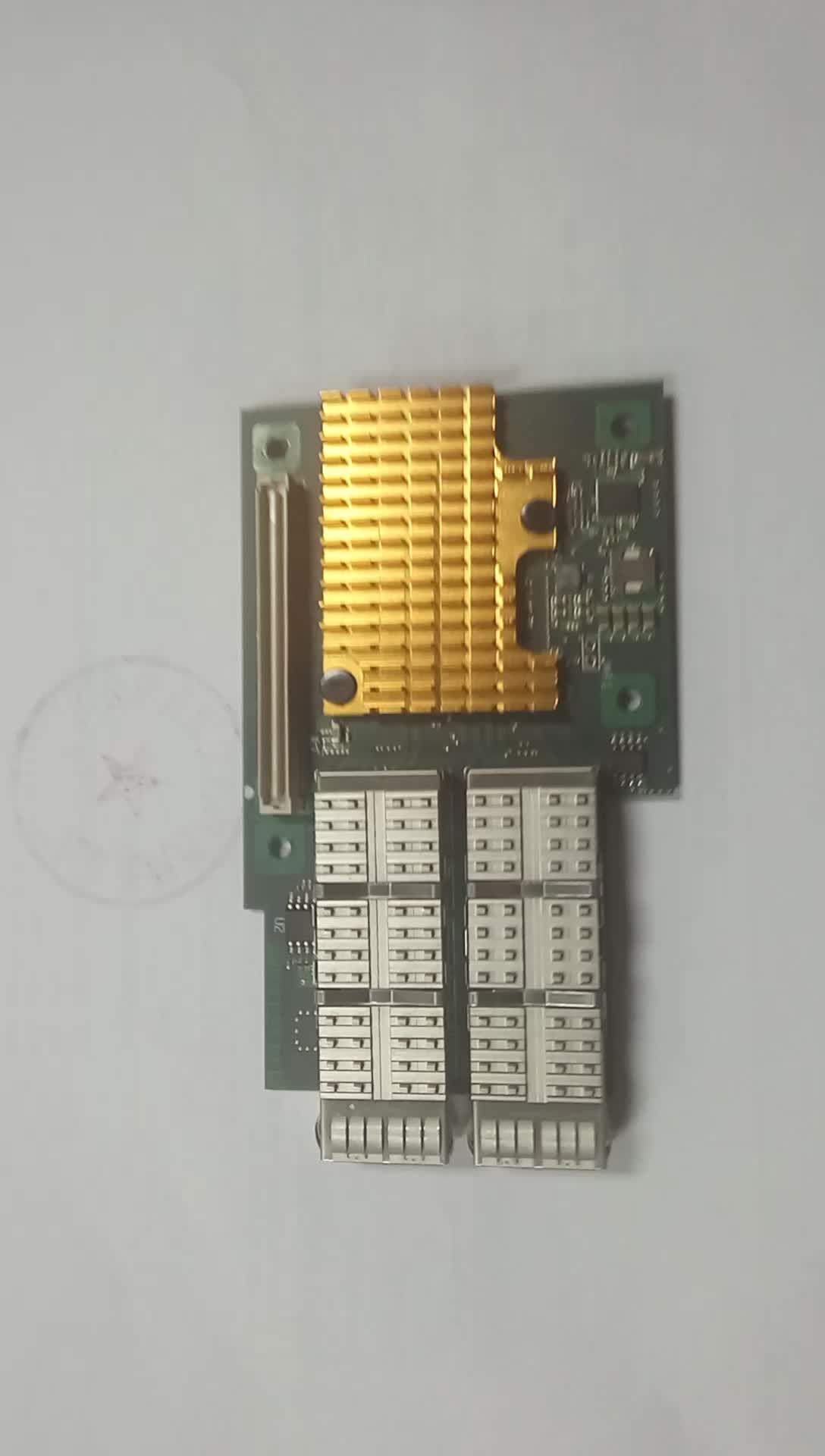 Dual Port QSFP+ 40 Gigabit Ethernet OCP Mezzanine Card Intel XL710-BM2 Based F4002E-OCP