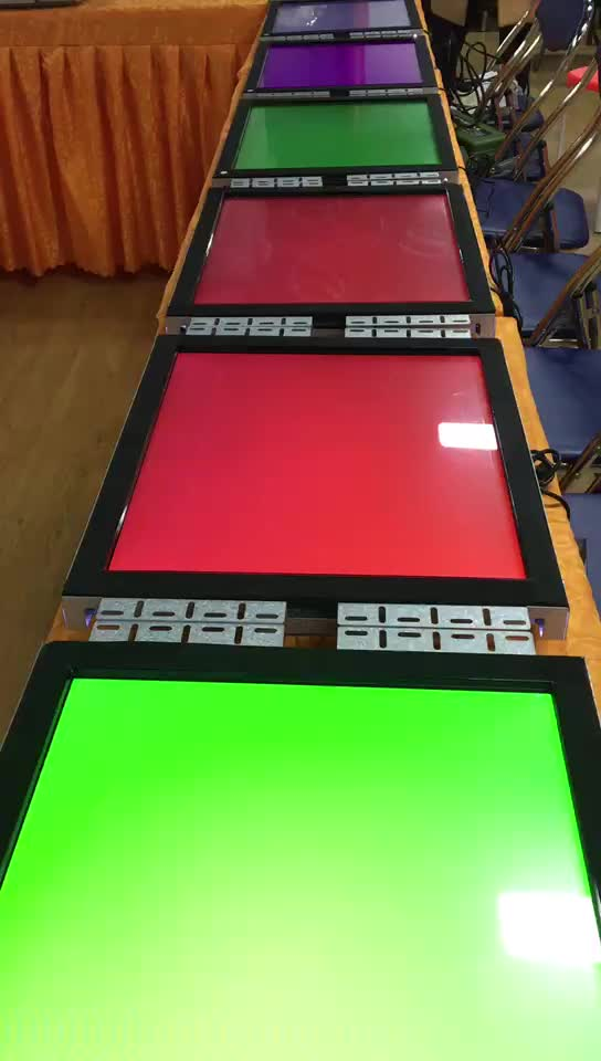 IR touch 19 inch 22 inch Touch Monitors 3M metal frame wms pog board  monitors with RS232/VGA/CGA