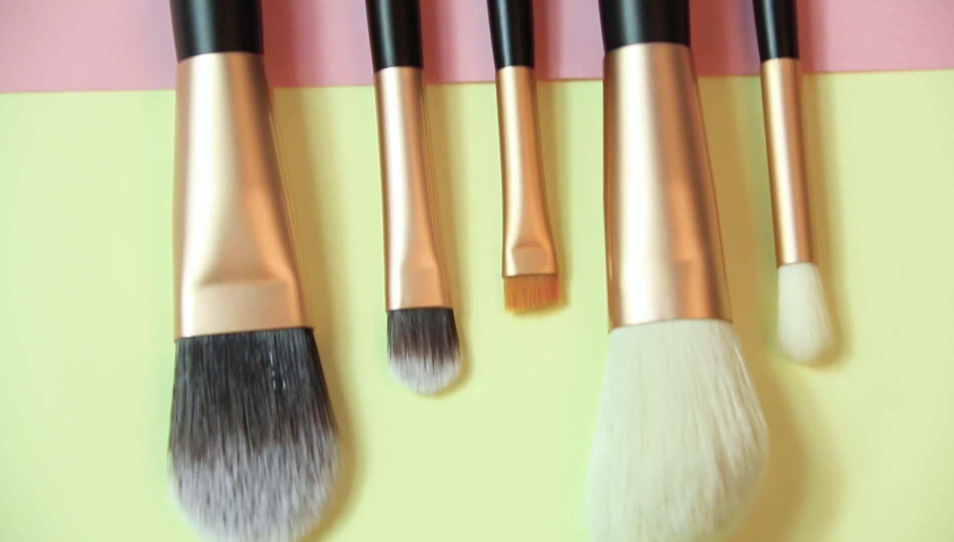 カスタムロゴ美容アクセサリープロフェッショナルメイクブラシセット