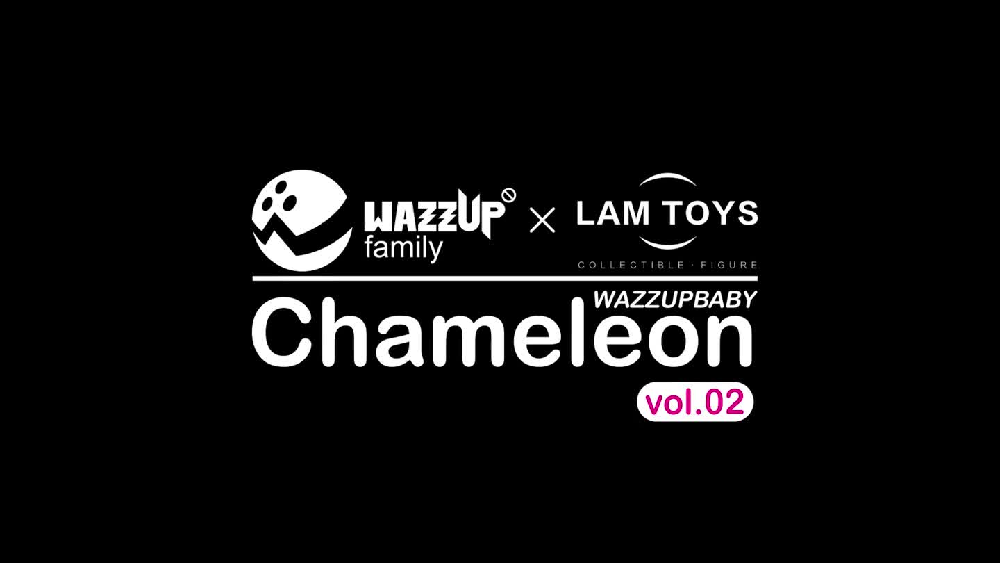 Lamtoys Wazzupbaby Collectible Speelgoed Chameleon Vol-02