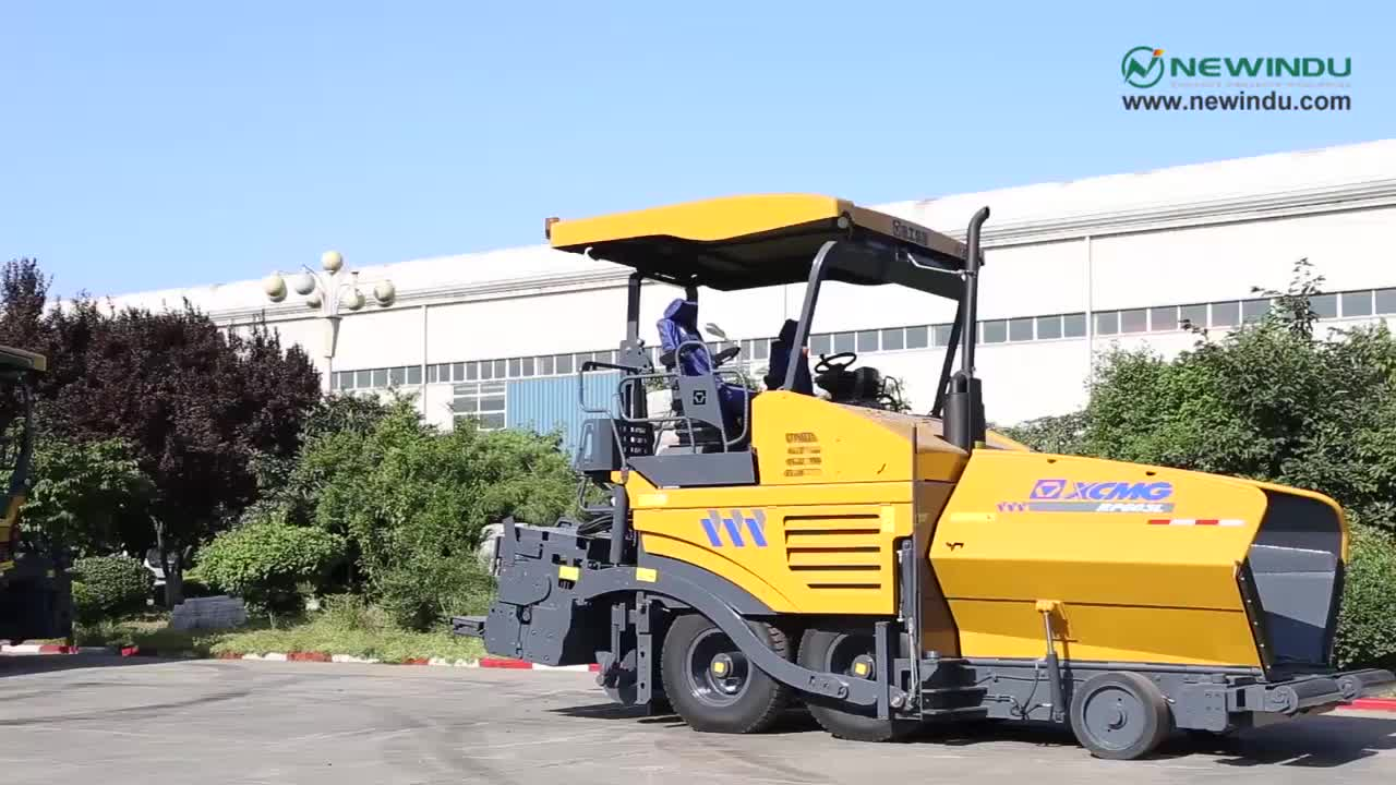 X CMG RP603 Small 6 Meters Paving Asphalt Paver in Indonesia