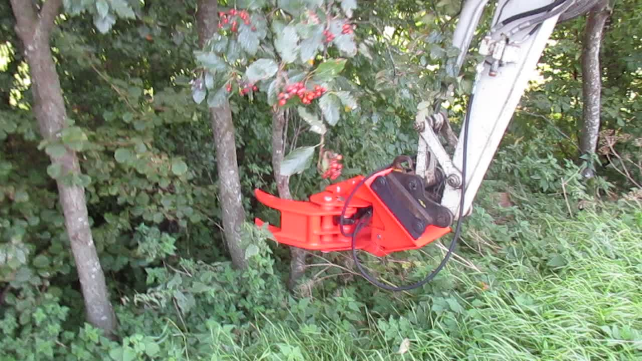 High quality tree shear used for excavator