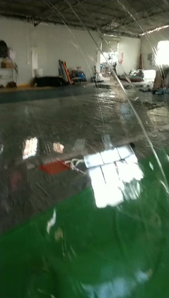 Haute qualité! Ballon gonflable de marche de l'eau, ballon d'eau humain, boule de marche de pvc sur l'eau
