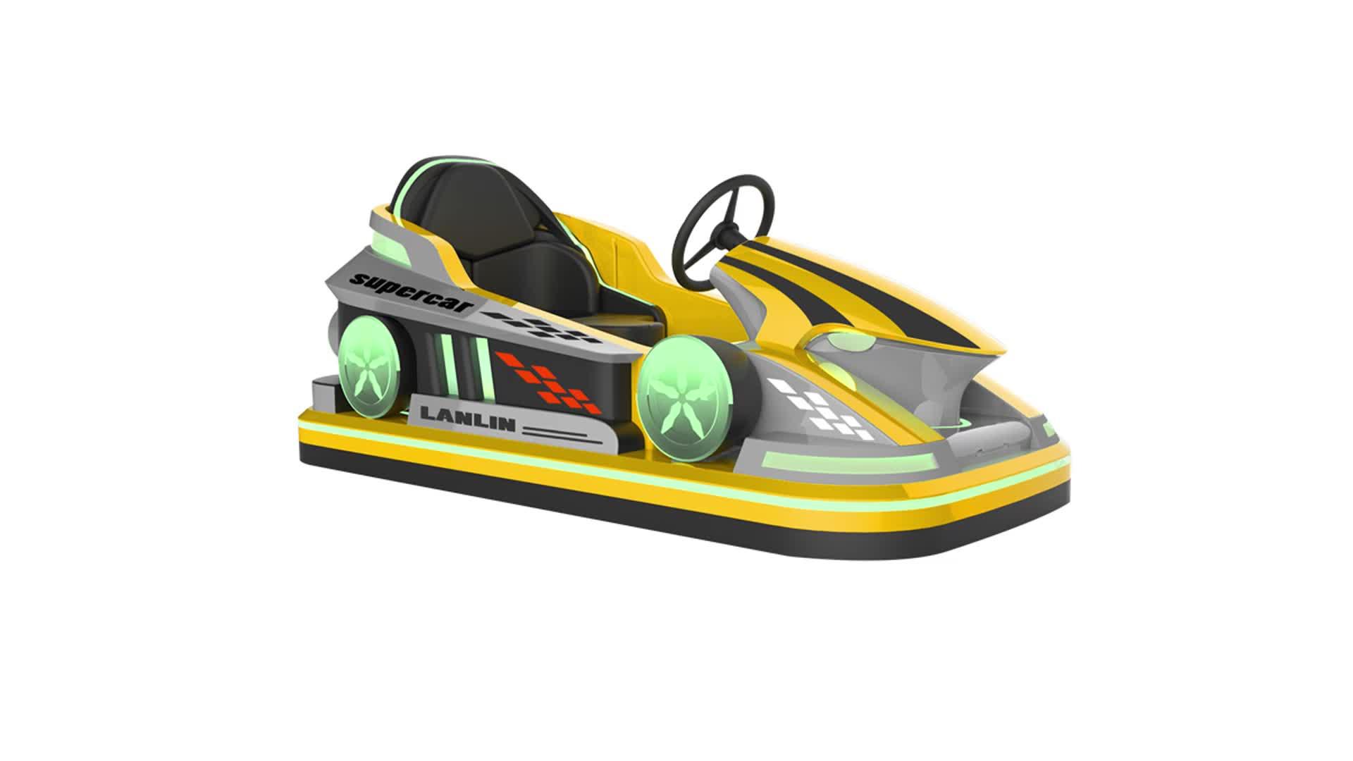 Parque de diversões mini dodgem carro pára-choques criança bateria amortecedor carro para venda
