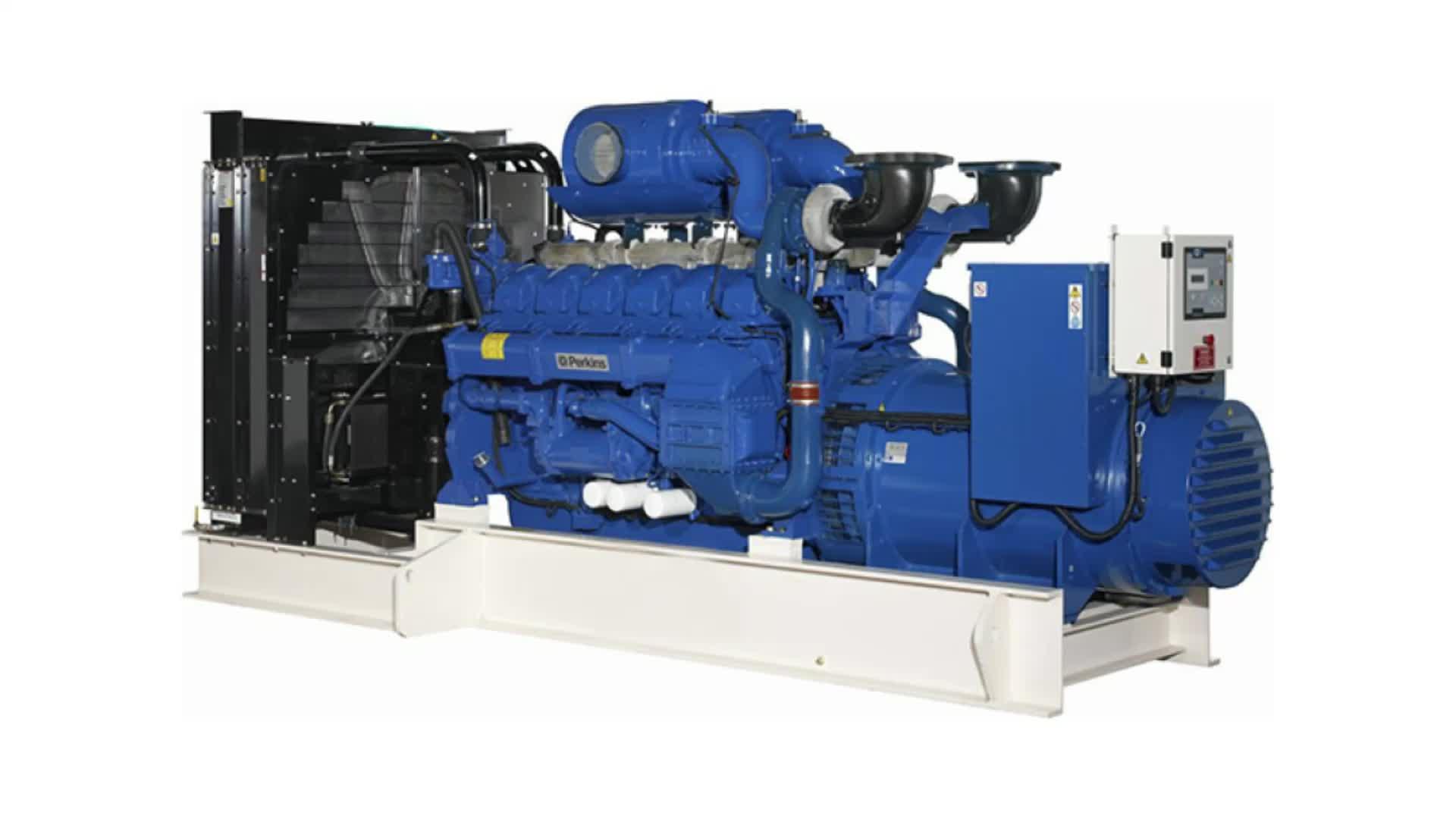 Biasino 480kw 600kva generatore diesel con motore perkins