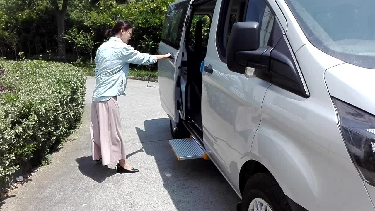ES-S-600 Electric Sliding Step for van and coach with CE certificate