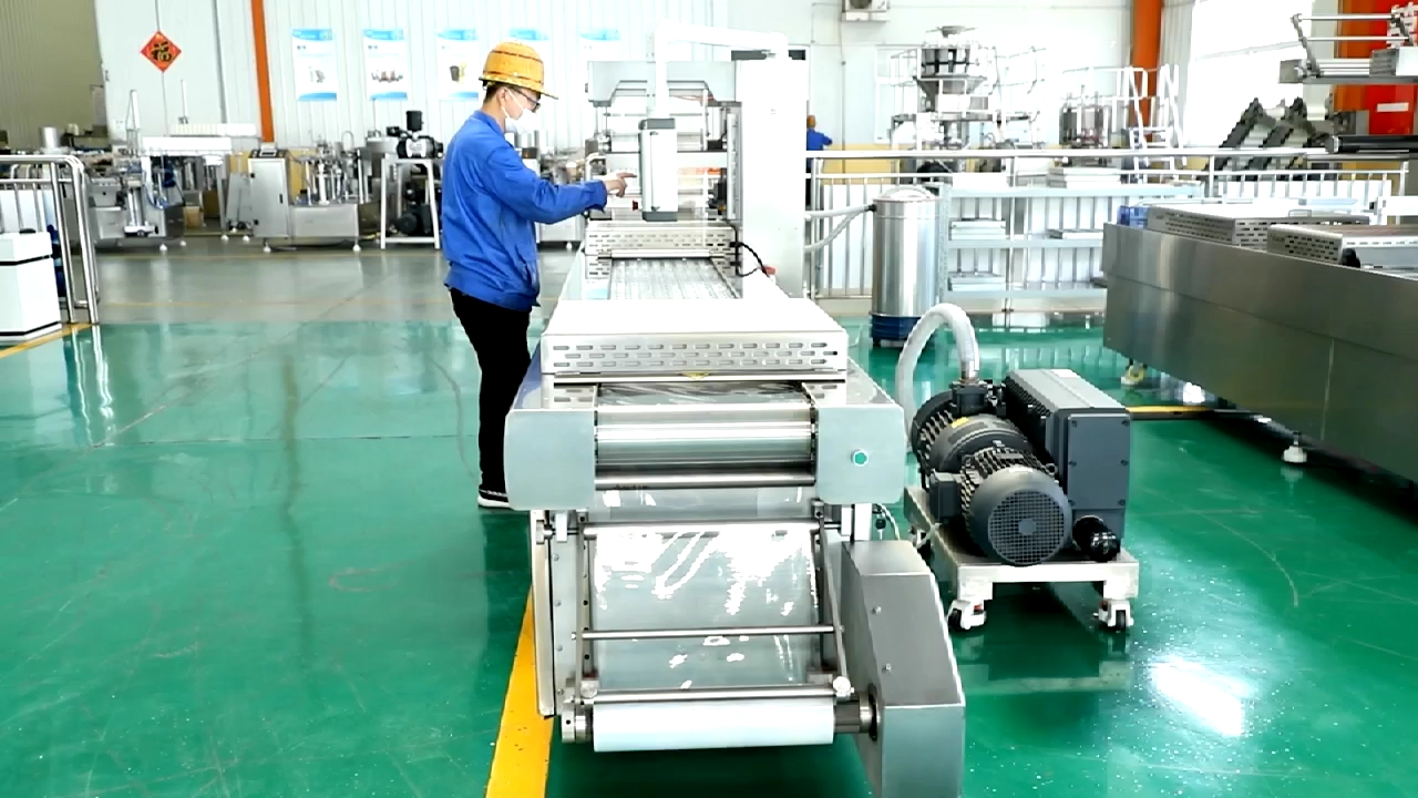 Dates Thermoforming Vacuum Packaging Machines