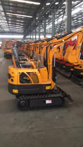 Made in China 0.8t Small crawler excavator  YFE08 for sale