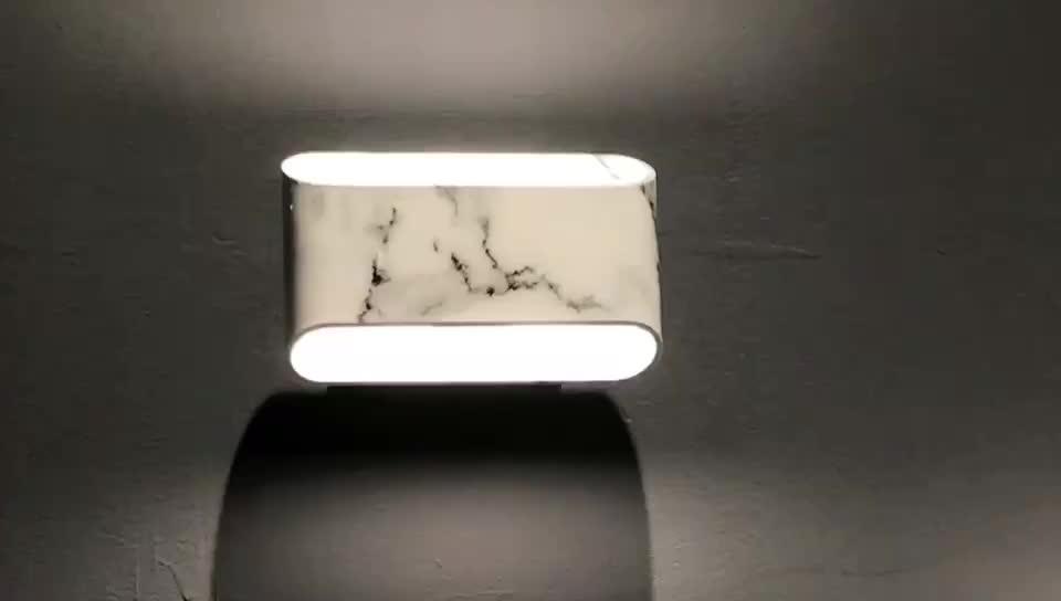 Ip54 ledウォールライトアップとダウン照明フィクス壁掛けledライト