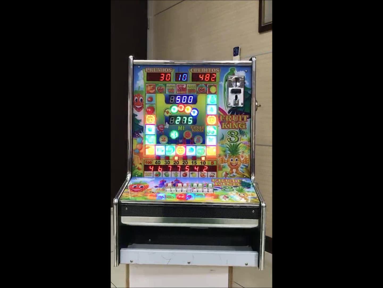 Fruit King 3 Taiwan's Mario Slot Game Machine Kits / Mario Slot Coin Operated Game Machine