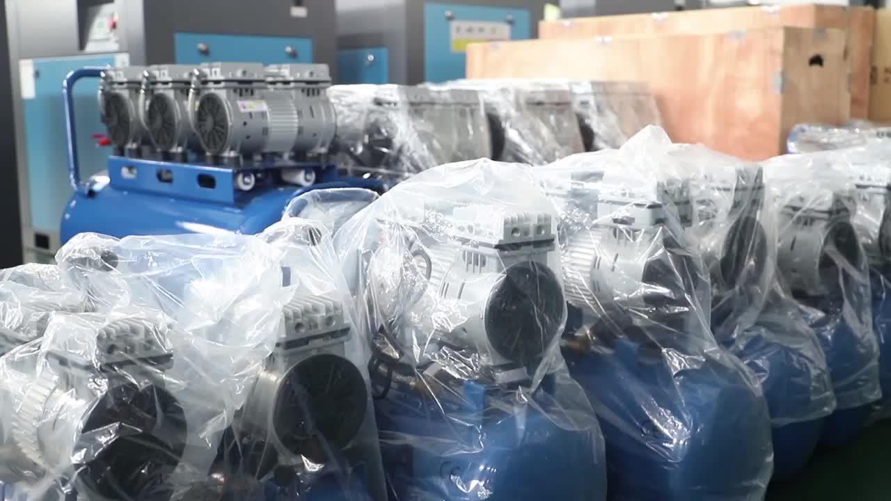 Çin'de Yapılan 500l kayış tahrikli sessiz İtalya piston halkaları hava kompresörü satılık