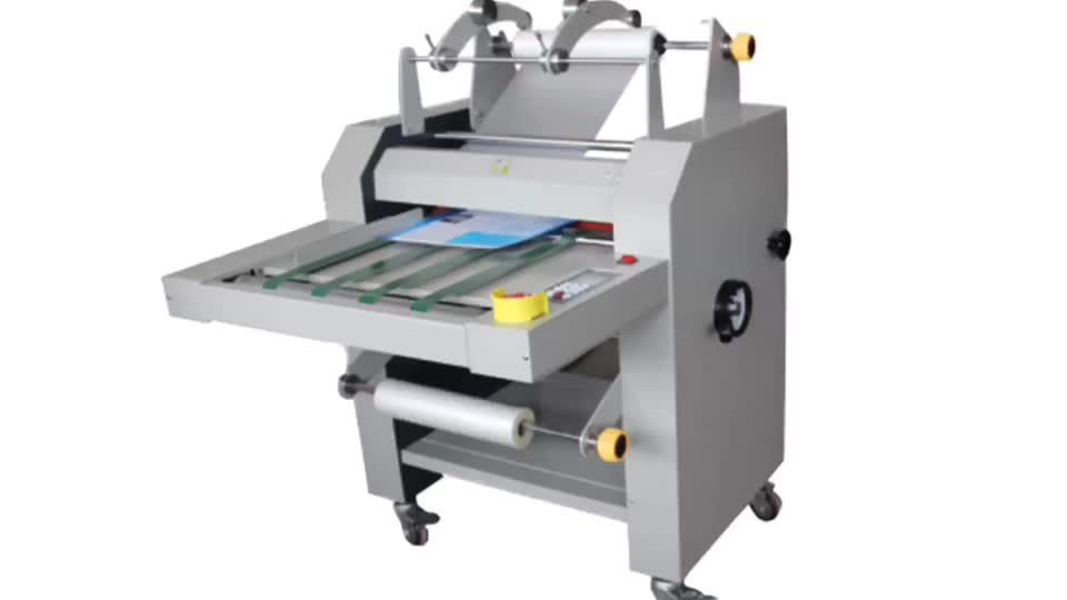 SG-490 Double sides hot and cold roll to roll laminating machine