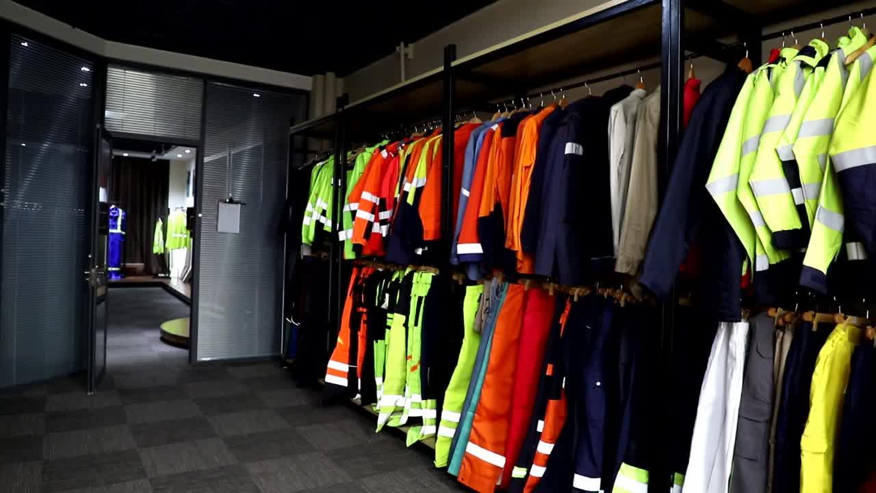 EN11611 Camicia Da Lavoro All'ingrosso Riflettente Ad Alta Visibilità C/N Camicie