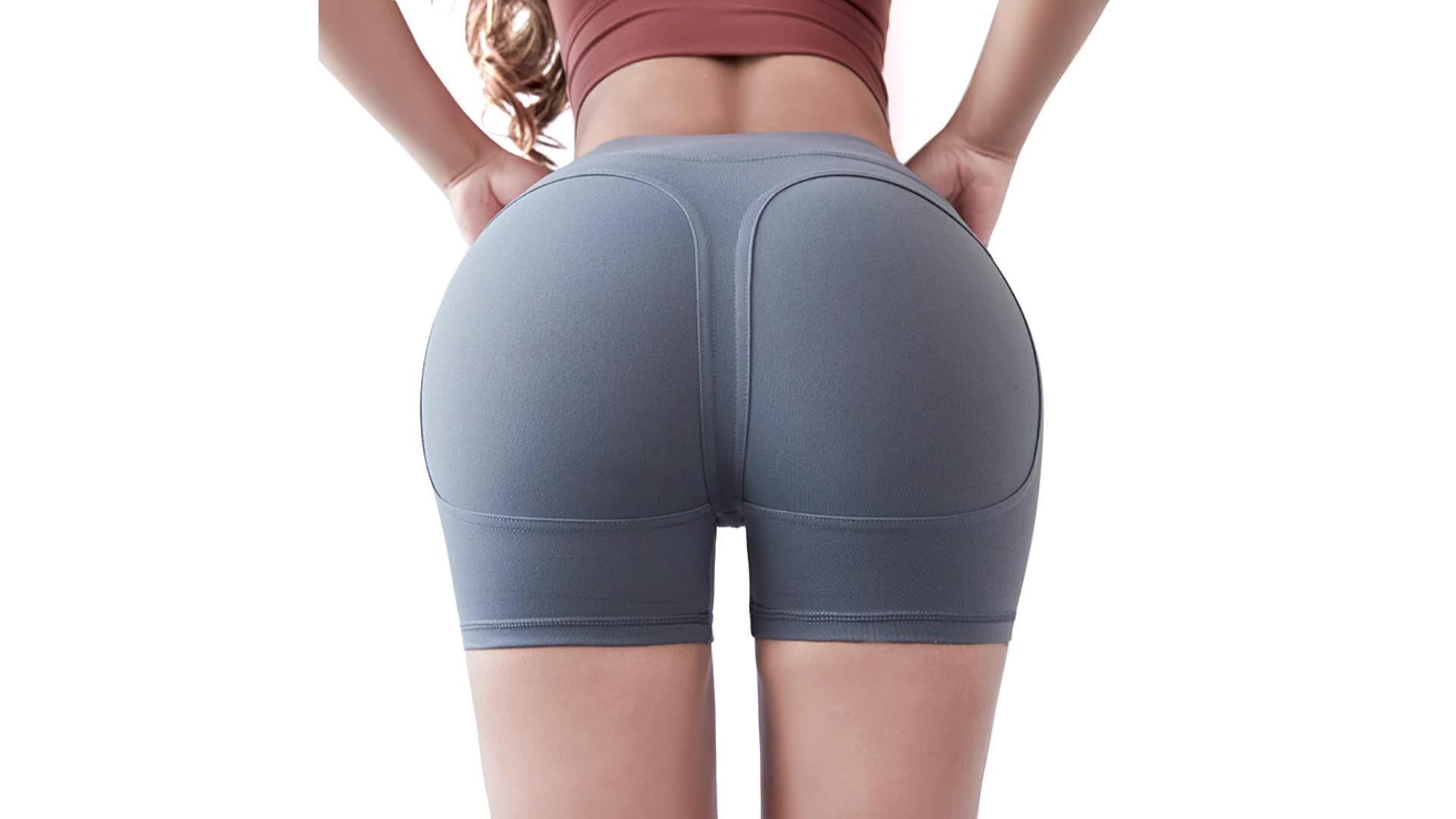 Großhandel Frauen Kurze Yoga Sport Leggings, Atmungsaktiv Bauch-steuer Shaper Yoga Sport Leggings
