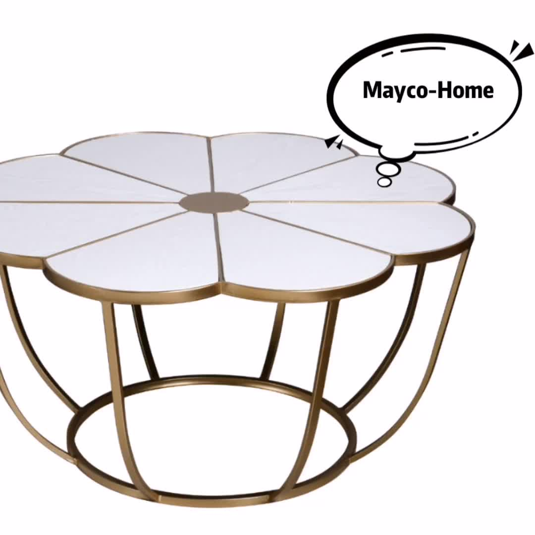 Mayco Unique Metal Round Nesting Accent Table with Mirror Top and Round Base Set of Two Metallic Finish Black