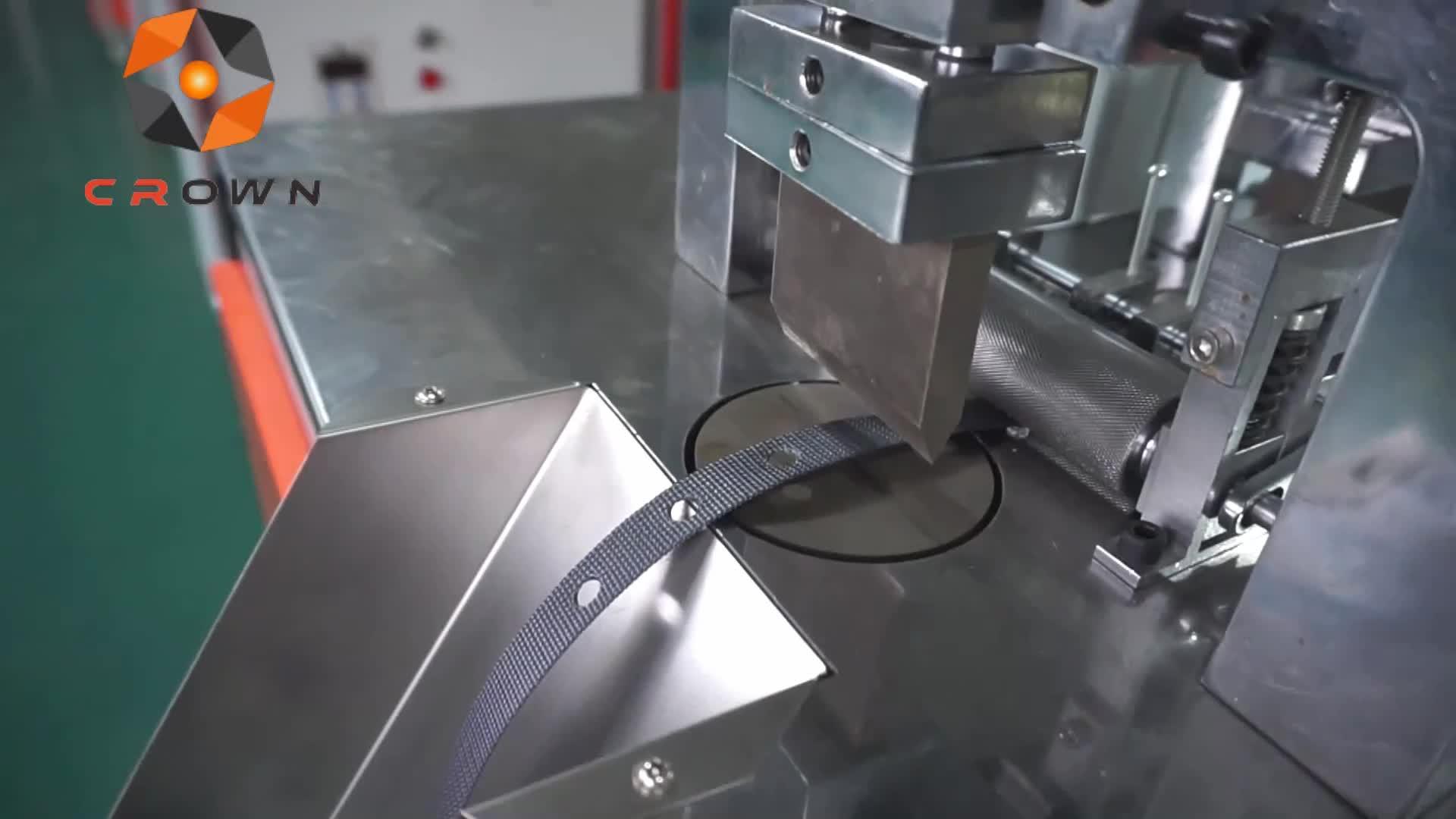 Автоматическая пластиковая пленка перфорация машина ленточная резка и перфорация отверстий все в одной машине ZYDK130