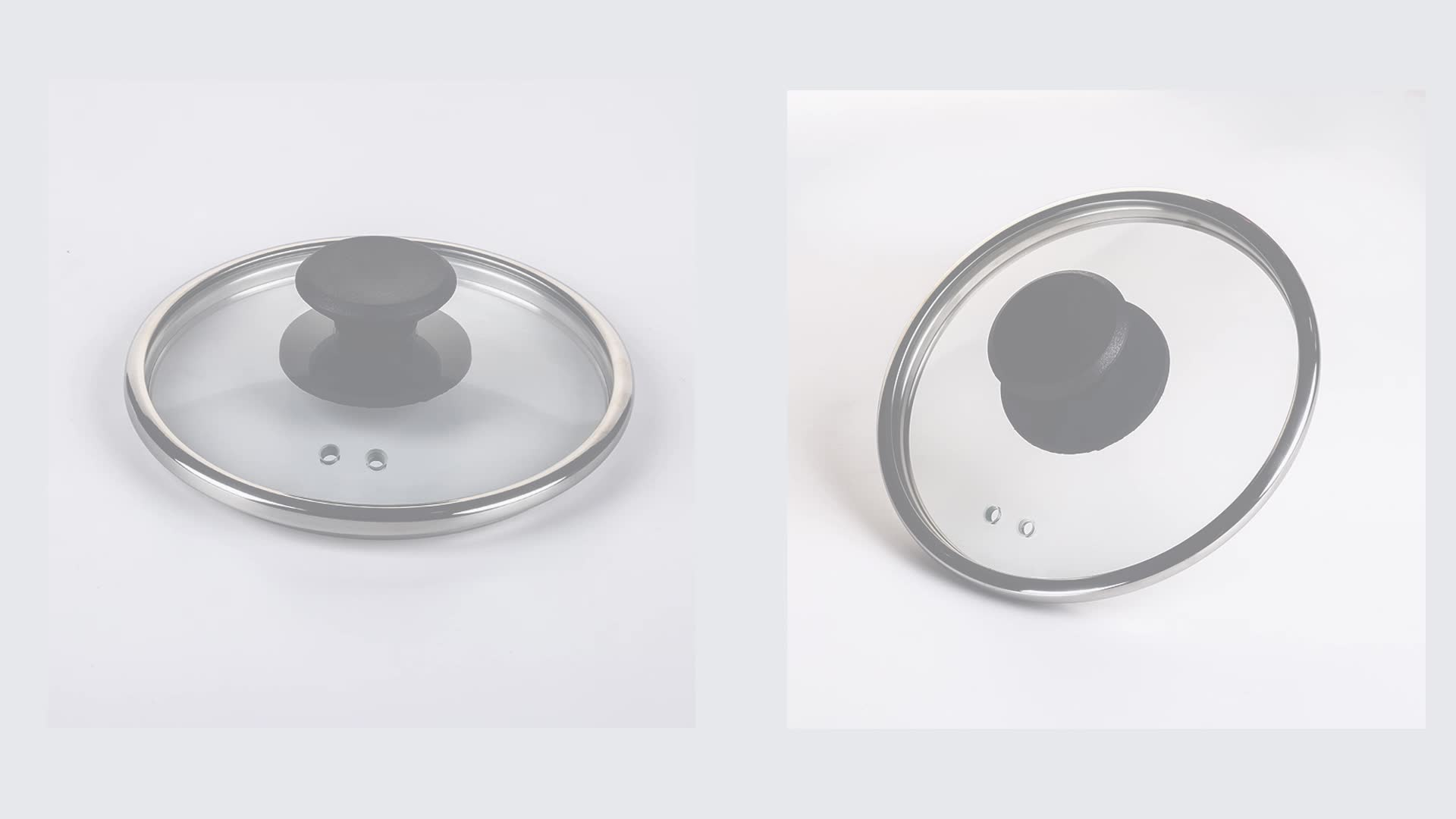 Hot sale cook n home microwave cookware  universal tempered glass lid