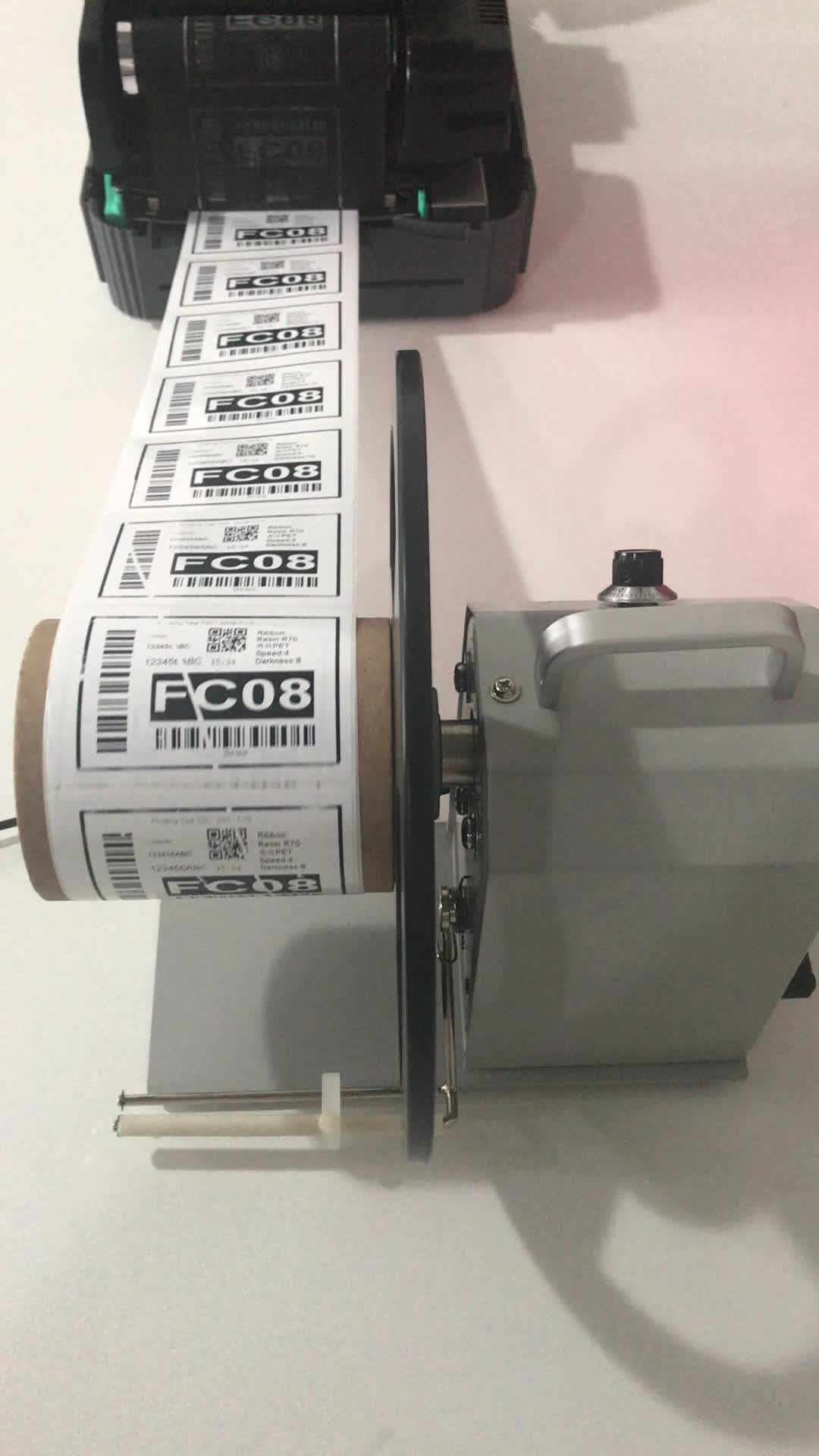 Coditeck Tự Động Nhãn Rewinder AL Reel Để Reel