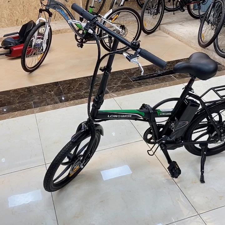 "Electric City Foldable folding Bike Electric Bicycle 20"" Tire Aluminum Tire Frame 36V 6/8/10AH F/R disc brake"