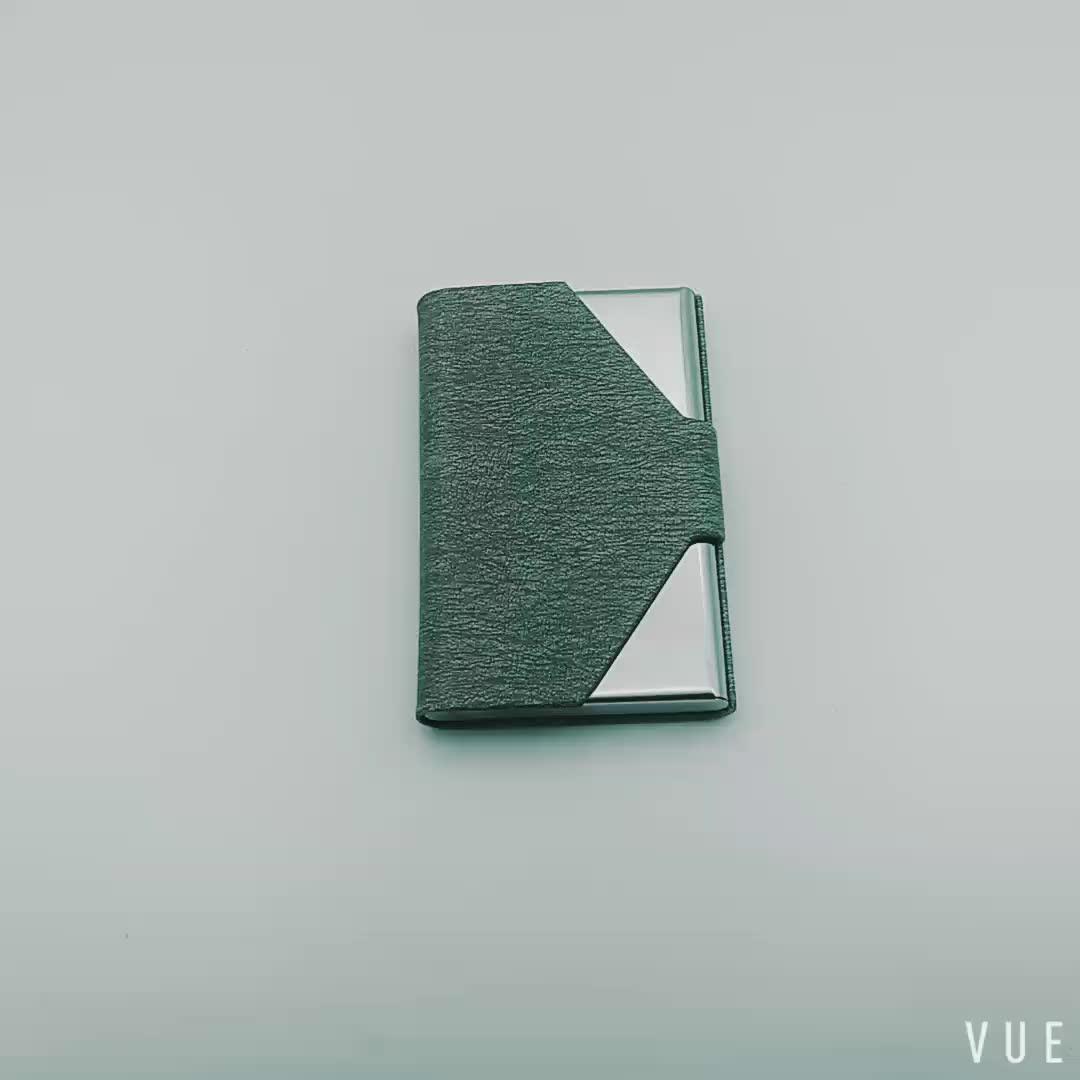New Design Business Visiting Custom Logo Card Holder
