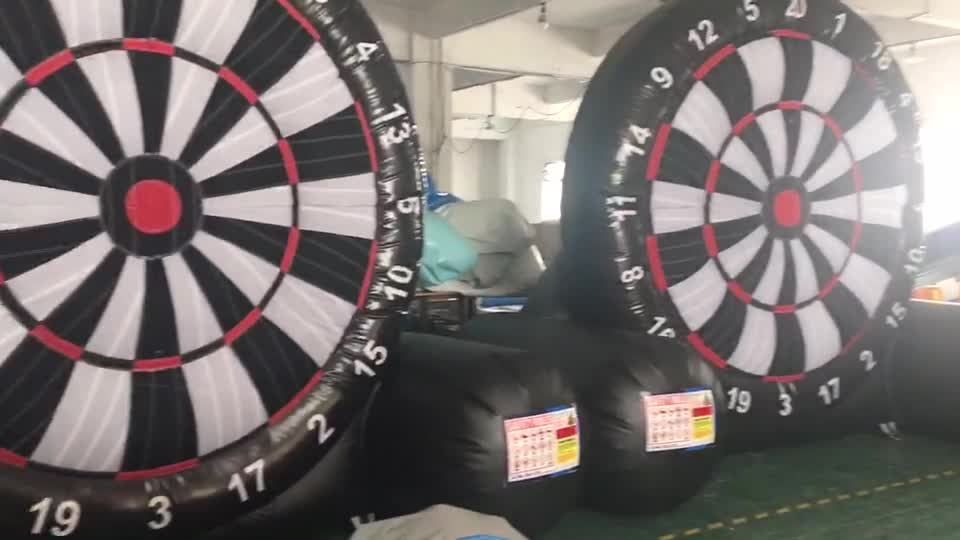 New Popular Inflatable Game Inflatable Football Dart Board for Sale