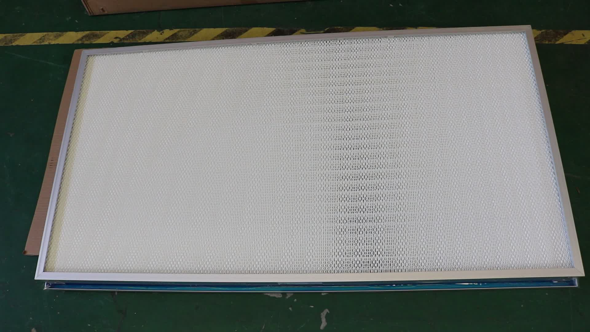 HVAC System Liquid Tank Gel Seal HEPA Air Filter