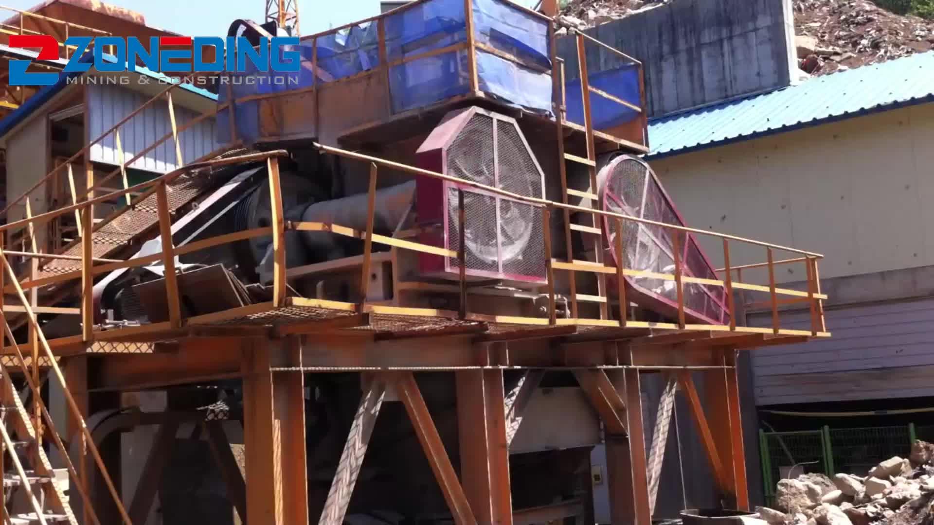 Best Service Industrial Ore Concrete Crusher Machine Jaw Stone Crusher