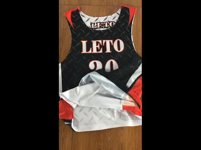 Wholesale 100% Polyester Lacrosse Pinny