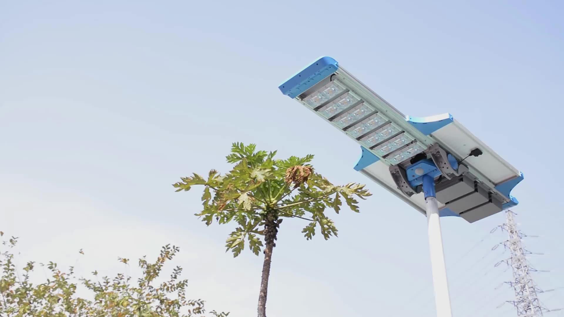 Sresky 2020 new design smart city lighting solution Intelligent network pir motion led solar street lights with APP control