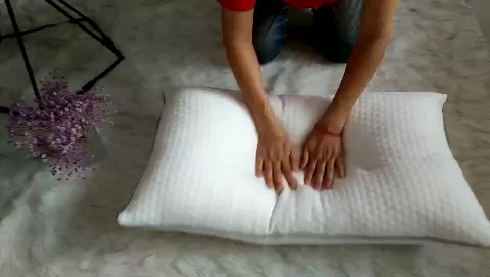 High Quality Hotel Bedding Bamboo Pillow Cover Deep Sleep Headrest Pillow