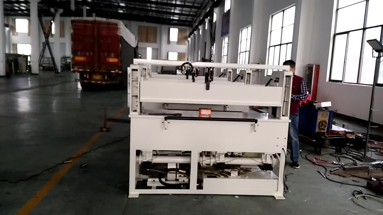 Plane Hydraulic Pressure Leather Cutting Machine