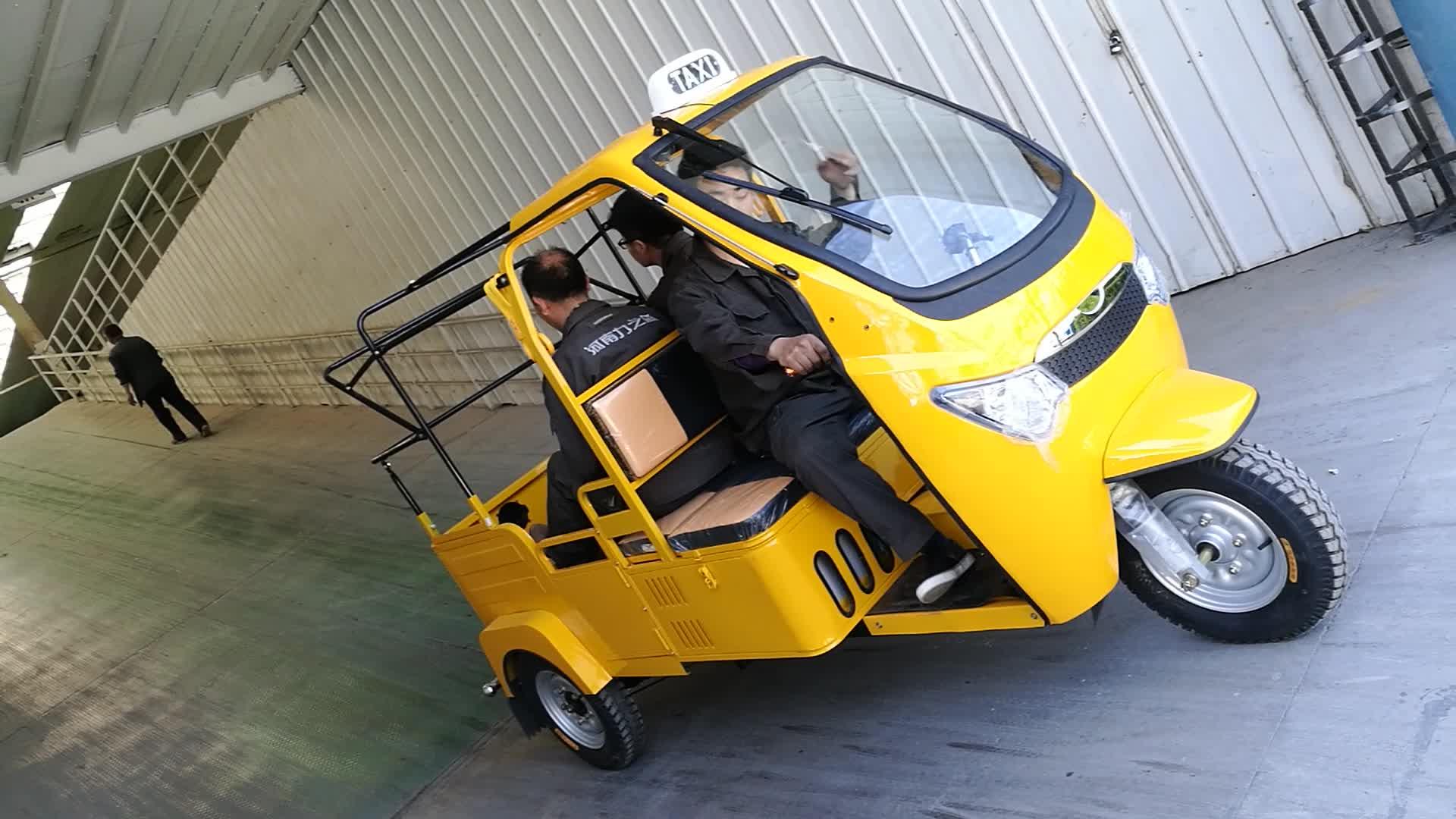 Pousse-pousse électrique pour passager