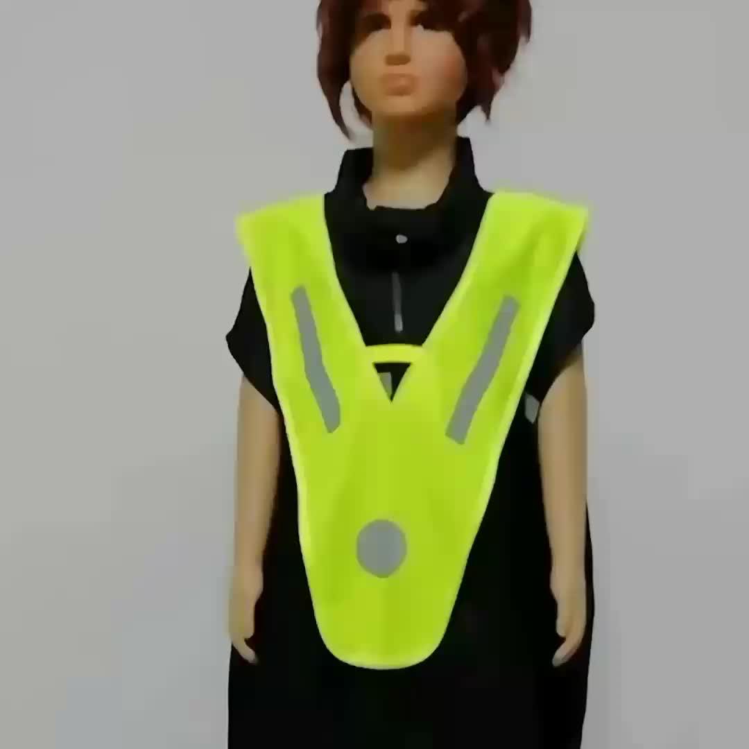 Toptan komik trafik açık güvenlik kıyafetleri yansıtıcı çocuklar güvenlik yelek