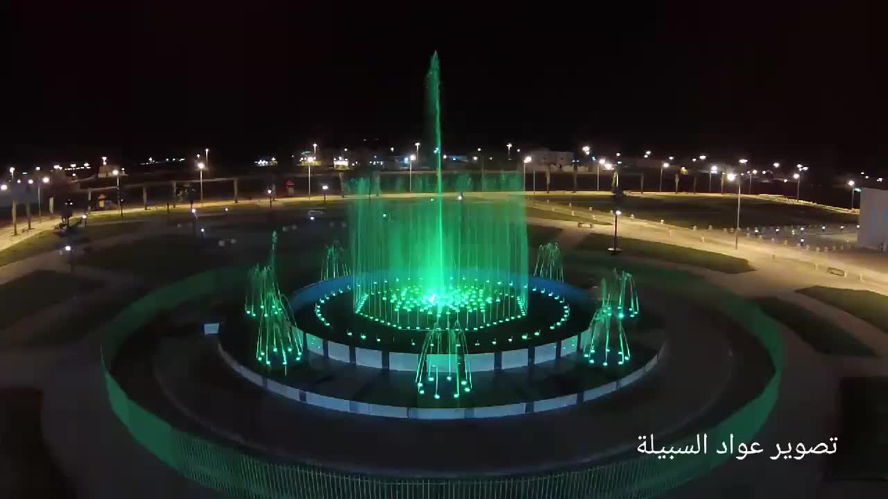 Green Landscape Decorative Project 30M Programmable Large Indoor Fountain