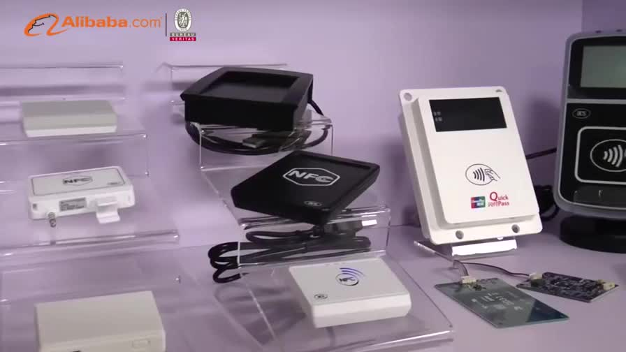 USB 13.56 MHz RFID PC-Linked NFC Contactless Reader With LCD ACR1222L