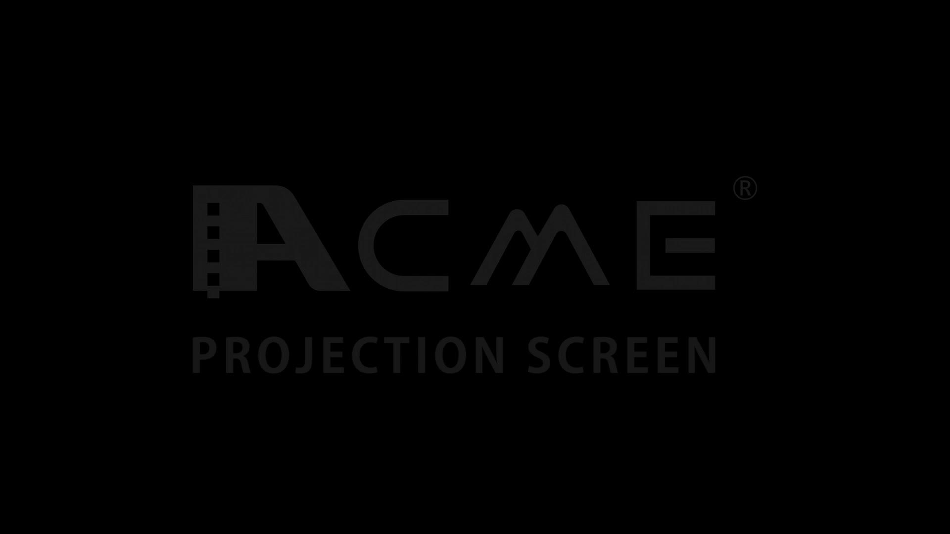 Profesional Pabrik Pasokan HD Proyektor Layar Proyeksi Depan Melengkung Portabel Layar Proyeksi