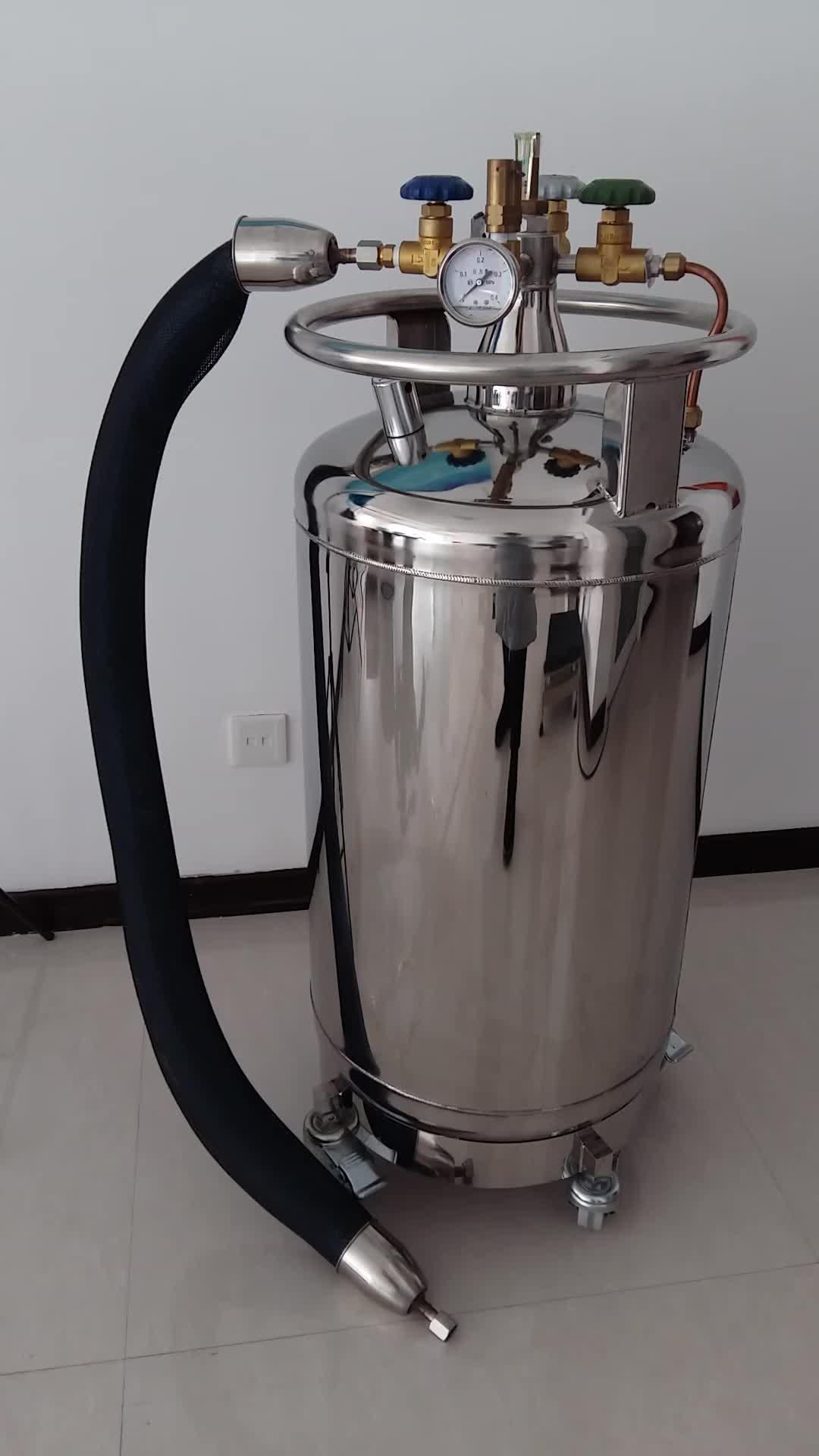 YDZ-240 base del Rullo per Dewars con professionale tubo morbido