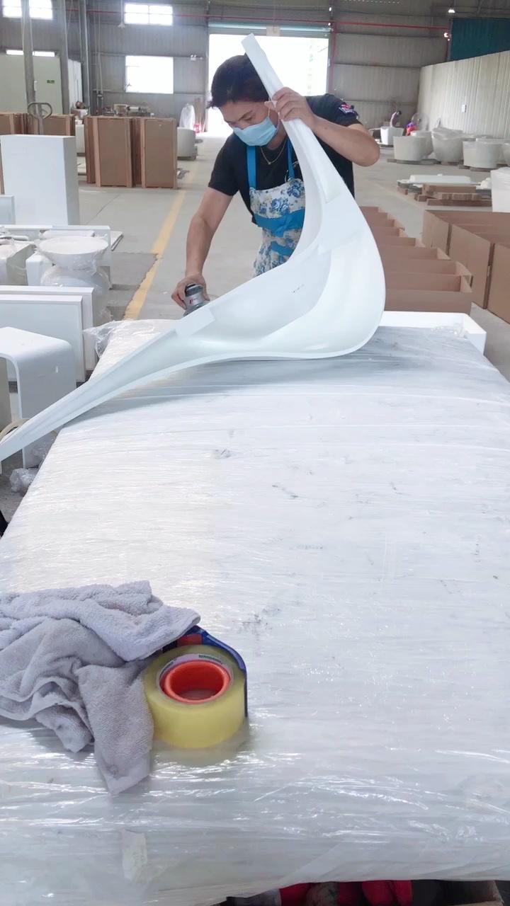 mold made basin sinks bathroom solid surface wash basin,solid surface counter top basin