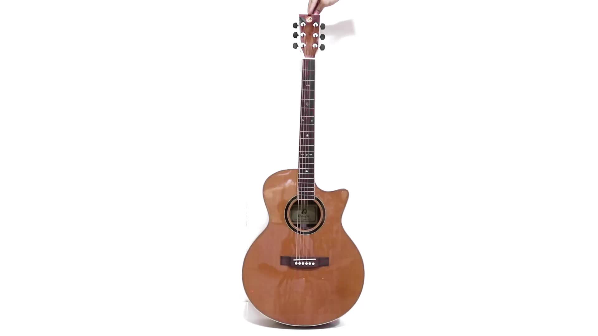 41 Quot High Grade Best Value Solid Wooden Acoustic Guitar For