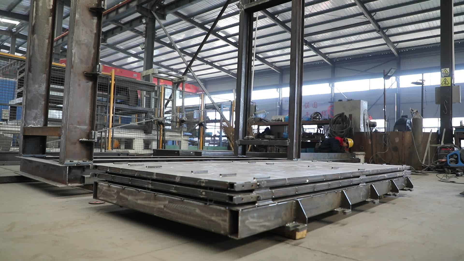 lightweight mgo hollow core wall panel machine for house