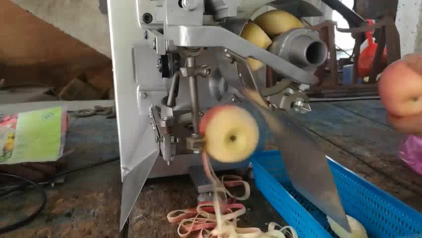Automatique machine à éplucher L'ananas/éplucheur pour apple